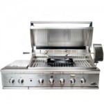 "DCS 48"" Grill w/ Side Burner Open Model: BGB48-BQR-N"