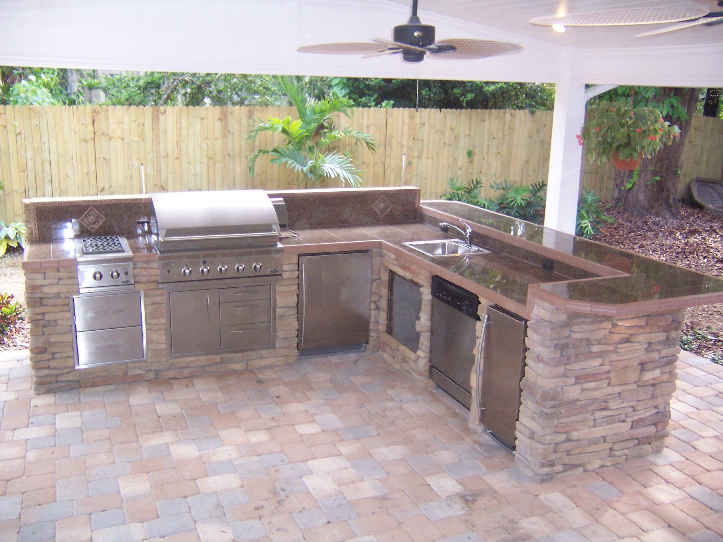 permanent kitchen islands outdoor kitchen creations orlando dandk organizer 14538
